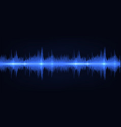 sound wave vibrant gradient light frequency vector image