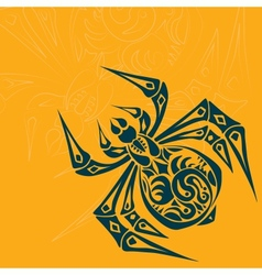 Spider Tribal Tattoo vector image