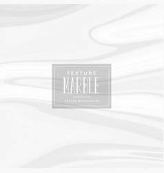 white liquid marble texture background vector image