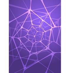 Abstract glowing indigo background vector image vector image