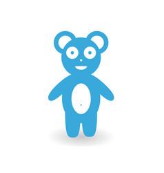 bear cub vector image