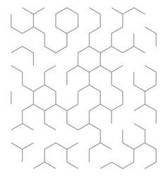 abstract technology backfground vector image