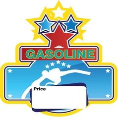 gasoline2 vector image