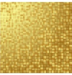 Gold glittering background vector image vector image