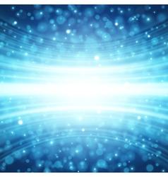 Blue Lens Sparkle Effect vector image vector image