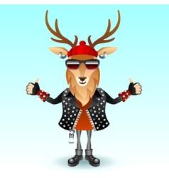 Deer rocker vector