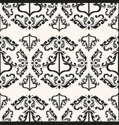 elegant victorian seamless pattern vector image