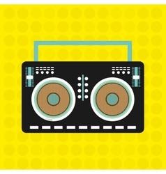 music concept design vector image