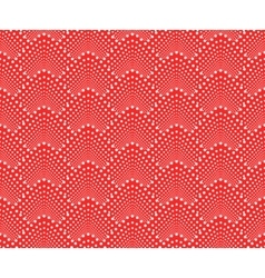 Seamless pattern with dotted scales vector image