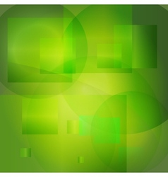 Green abstract light background vector image vector image