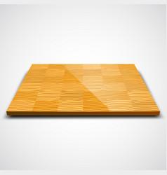 parquet wood floor vector image