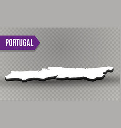 portugal world map world geography vector image