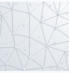 modern abstract polygonal space background vector image