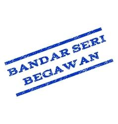Bandar Seri Begawan Watermark Stamp vector
