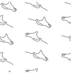 devilfish pattern seamless vector image