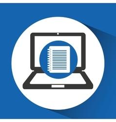 digital files icon vector image
