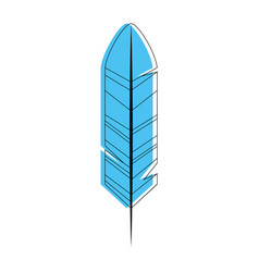 Feather icon image vector