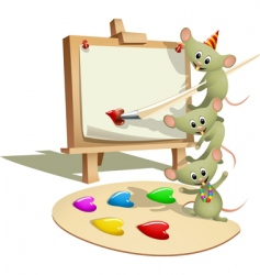 mice vector image vector image