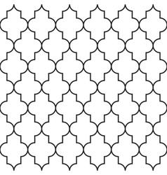 Ornamental arabic seamless pattern vector image