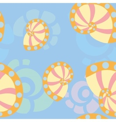 sea shells background 1 vector image