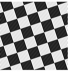 seamless black white abstract checkered pattern vector image