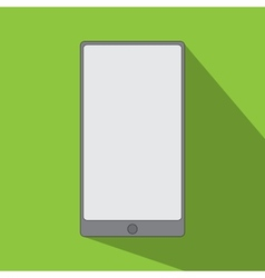 smartphone icon flat design vector image