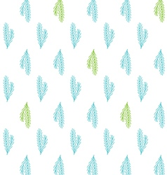 Tile Christmas background with pine tree twigs vector image vector image