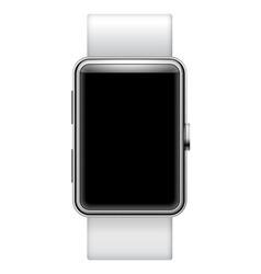 Blank smartwatch vector image vector image
