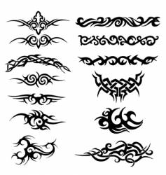 tribal artworks vector image vector image