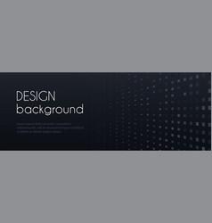abstract black minimal long banner vector image
