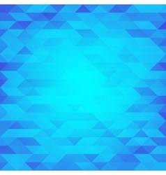 Abstract blue lowpoly designed background vector