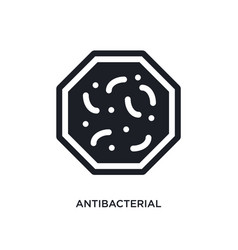 Antibacterial isolated icon simple element from vector
