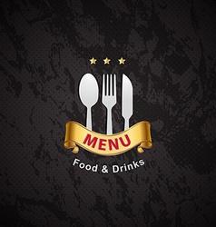 cover restaurant menu designs vector image