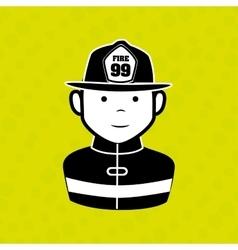 emergency icon design vector image