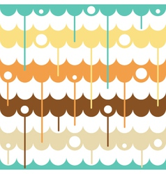 Liquid seamless pattern vector image