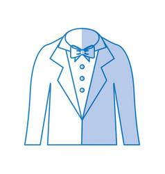 male wedding dress icon vector image