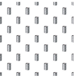 Metal beer keg pattern vector