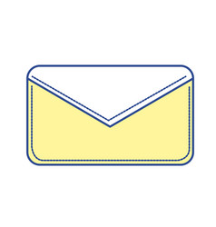 nice letter close with important message vector image