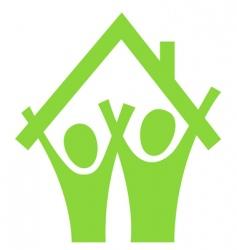pictogram couple vector image