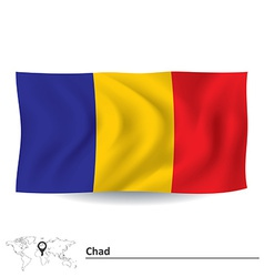 Flag of Chad vector image
