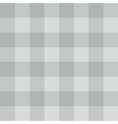 Tile grey plaid pattern vector image vector image