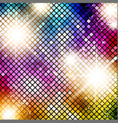Bright Disco Background vector image
