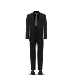 men suit vector image vector image