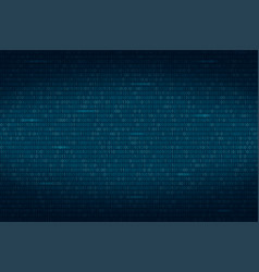 abstract binary code background digital vector image