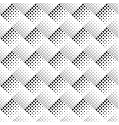abstract seamless black and white square pattern vector image