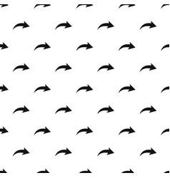 arrow pattern repeat vector image