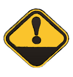 Attention advert sign vector