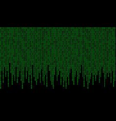 binary code pattern vector image