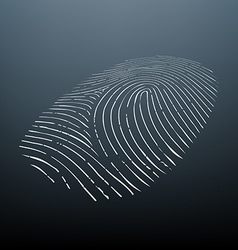 Biometric data Stock vector