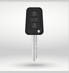 Car key with buttons vector